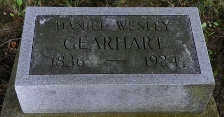 GEARHART, DANIEL WESLEY - Miami County, Ohio | DANIEL WESLEY GEARHART - Ohio Gravestone Photos