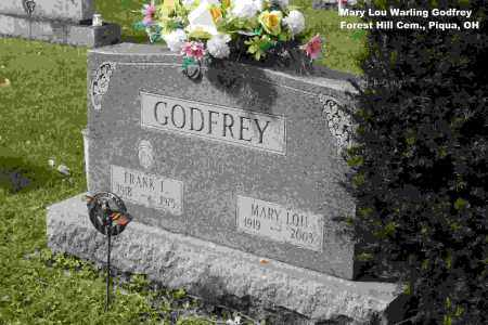 WARLING GODFREY, MARY LOU - Miami County, Ohio | MARY LOU WARLING GODFREY - Ohio Gravestone Photos