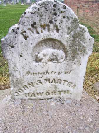HAWORTH, EMMA V - Miami County, Ohio | EMMA V HAWORTH - Ohio Gravestone Photos