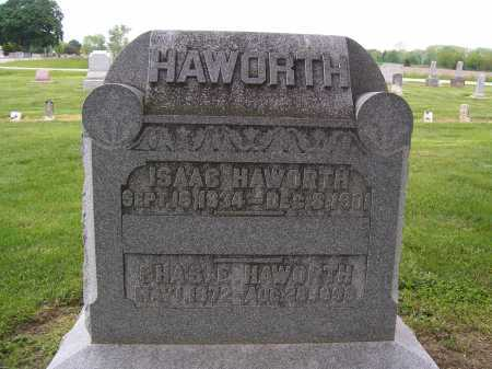 HAWORTH, ISAAC - Miami County, Ohio | ISAAC HAWORTH - Ohio Gravestone Photos