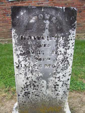 HAWORTH, JOHN - Miami County, Ohio   JOHN HAWORTH - Ohio Gravestone Photos