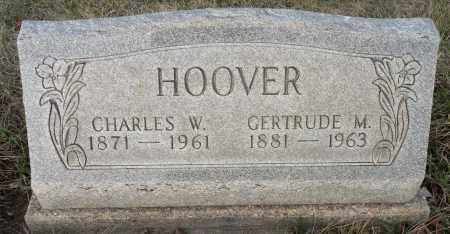 HOOVER, CHARLES WEBSTER - Miami County, Ohio | CHARLES WEBSTER HOOVER - Ohio Gravestone Photos