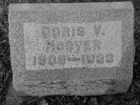 WRIGHT HOOVER, DOROTHY (DORIS) VIVIAN - Miami County, Ohio | DOROTHY (DORIS) VIVIAN WRIGHT HOOVER - Ohio Gravestone Photos