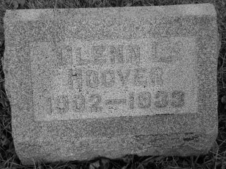 HOOVER, GLENN LEVERN - Miami County, Ohio | GLENN LEVERN HOOVER - Ohio Gravestone Photos