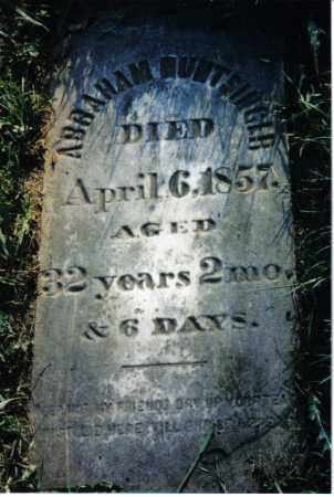HUNTSINGER, ABRAHAM - Miami County, Ohio | ABRAHAM HUNTSINGER - Ohio Gravestone Photos