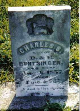 HUNTSINGER, CHARLES S. - Miami County, Ohio | CHARLES S. HUNTSINGER - Ohio Gravestone Photos
