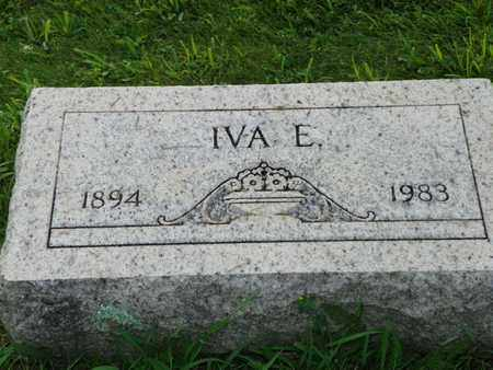 IDLE, IVA E. - Miami County, Ohio | IVA E. IDLE - Ohio Gravestone Photos