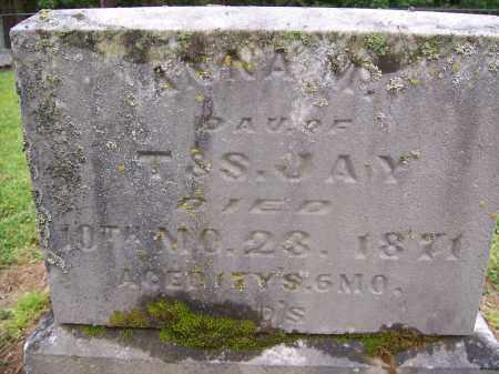 JAY, ANNA M - Miami County, Ohio | ANNA M JAY - Ohio Gravestone Photos