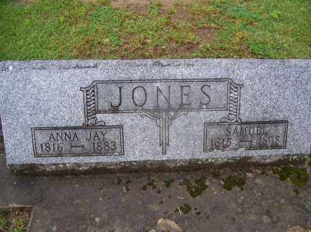 JAY JONES, ANNA - Miami County, Ohio | ANNA JAY JONES - Ohio Gravestone Photos