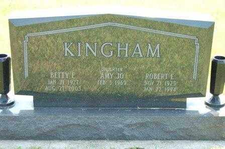 KINGHAM, BETTY - Miami County, Ohio | BETTY KINGHAM - Ohio Gravestone Photos