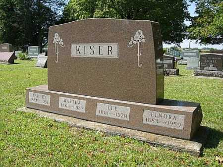 YOUNG KISER, MARTHA ELLEN - Miami County, Ohio | MARTHA ELLEN YOUNG KISER - Ohio Gravestone Photos