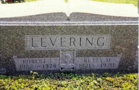 LEVERING, BETTY M. - Miami County, Ohio | BETTY M. LEVERING - Ohio Gravestone Photos