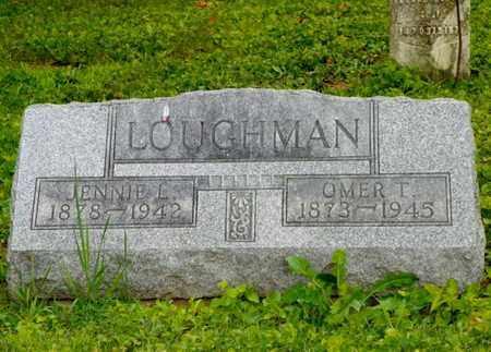 LOUGHMAN, JENNIE L. - Miami County, Ohio | JENNIE L. LOUGHMAN - Ohio Gravestone Photos