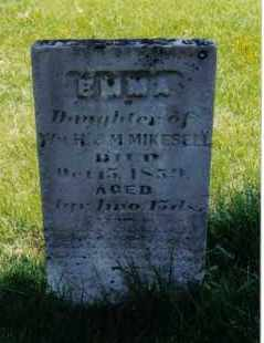 MIKESELL, EMMA - Miami County, Ohio | EMMA MIKESELL - Ohio Gravestone Photos