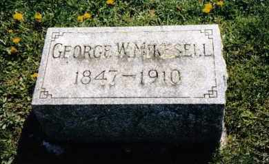 MIKESELL, GEORGE W. - Miami County, Ohio | GEORGE W. MIKESELL - Ohio Gravestone Photos