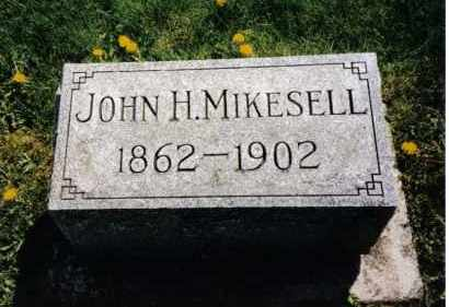 MIKESELL, JOHN H. - Miami County, Ohio | JOHN H. MIKESELL - Ohio Gravestone Photos
