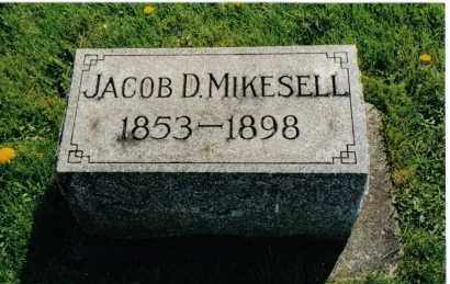 MIKESELL, JACOB D. - Miami County, Ohio | JACOB D. MIKESELL - Ohio Gravestone Photos