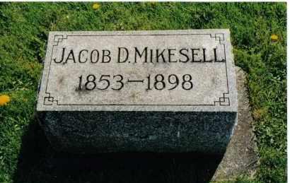 MIKESELL, JACOB D. - Miami County, Ohio   JACOB D. MIKESELL - Ohio Gravestone Photos
