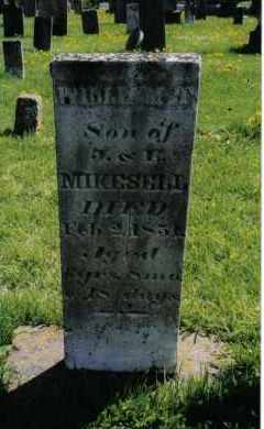 MIKESELL, WILLIAM T. - Miami County, Ohio | WILLIAM T. MIKESELL - Ohio Gravestone Photos