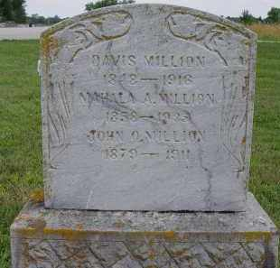 MILLION, DAVIS - Miami County, Ohio | DAVIS MILLION - Ohio Gravestone Photos