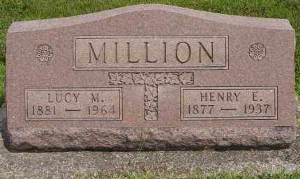MILLION, LUCY M - Miami County, Ohio | LUCY M MILLION - Ohio Gravestone Photos