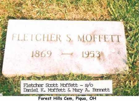 MOFFETT, FLETCHER - Miami County, Ohio | FLETCHER MOFFETT - Ohio Gravestone Photos