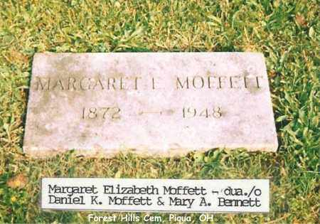 MOFFETT, MARGARET - Miami County, Ohio | MARGARET MOFFETT - Ohio Gravestone Photos