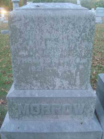 MORROW, LEAH - Miami County, Ohio | LEAH MORROW - Ohio Gravestone Photos