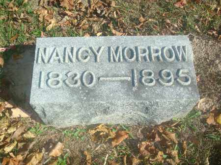 MORROW, NANCY - Miami County, Ohio | NANCY MORROW - Ohio Gravestone Photos