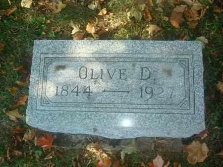 MORROW, OLIVE - Miami County, Ohio | OLIVE MORROW - Ohio Gravestone Photos