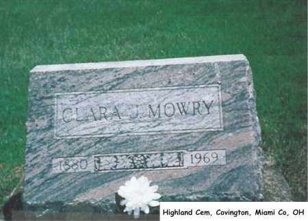 MOWRY, CLARA - Miami County, Ohio | CLARA MOWRY - Ohio Gravestone Photos