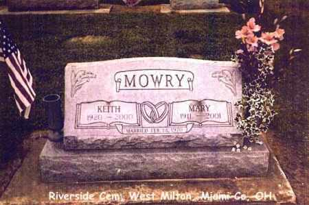 MINNICH MOWRY, MARY - Miami County, Ohio | MARY MINNICH MOWRY - Ohio Gravestone Photos