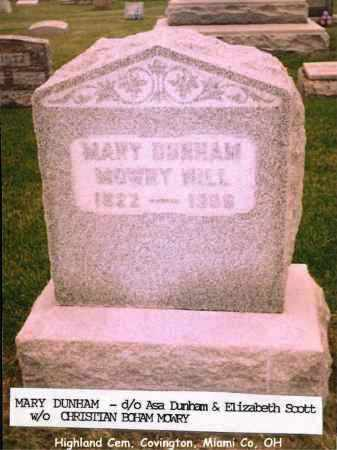 MOWRY, MARY - Miami County, Ohio | MARY MOWRY - Ohio Gravestone Photos