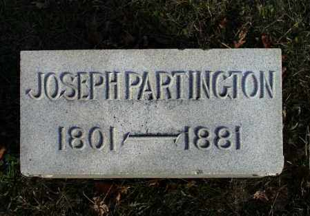PARTINGTON, JOSEPH - Miami County, Ohio | JOSEPH PARTINGTON - Ohio Gravestone Photos