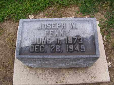 PENNY, JOSEPH W - Miami County, Ohio | JOSEPH W PENNY - Ohio Gravestone Photos