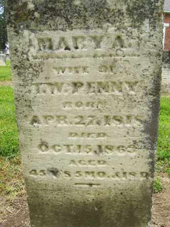 PENNY, MARY A - Miami County, Ohio | MARY A PENNY - Ohio Gravestone Photos