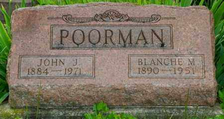 POORMAN, JOHN J. - Miami County, Ohio | JOHN J. POORMAN - Ohio Gravestone Photos