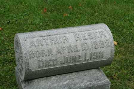 RESER, ARTHUR - Miami County, Ohio | ARTHUR RESER - Ohio Gravestone Photos