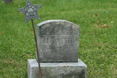 RESER, ELI - Miami County, Ohio | ELI RESER - Ohio Gravestone Photos