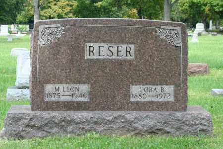RESER, MARTIN LEON - Miami County, Ohio | MARTIN LEON RESER - Ohio Gravestone Photos