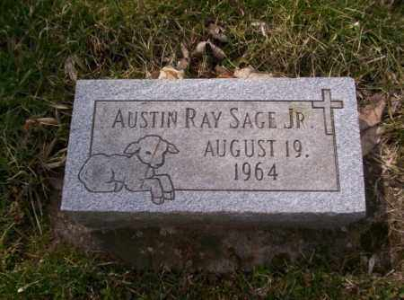 SAGE, AUSTIN RAY - Miami County, Ohio | AUSTIN RAY SAGE - Ohio Gravestone Photos