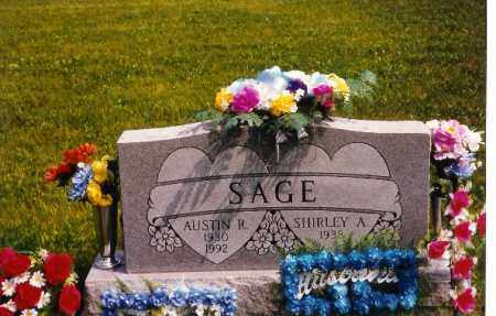 SAGE, SHIRLEY - Miami County, Ohio | SHIRLEY SAGE - Ohio Gravestone Photos