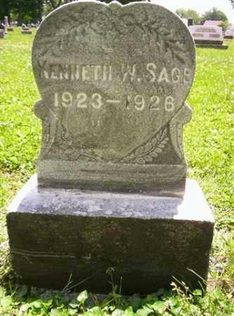 SAGE, KENNETH W - Miami County, Ohio | KENNETH W SAGE - Ohio Gravestone Photos
