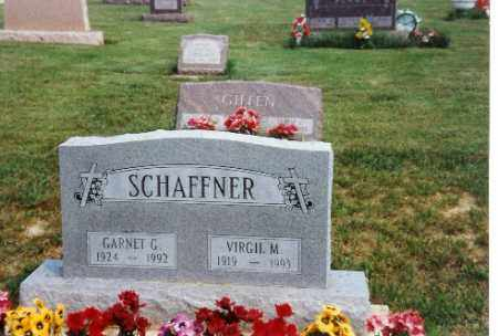 SCHAFFNER, VIRGIL - Miami County, Ohio | VIRGIL SCHAFFNER - Ohio Gravestone Photos