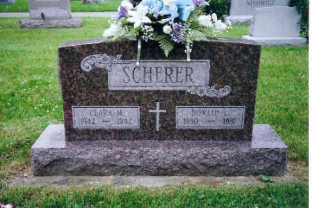 SCHERER, DONALD L - Miami County, Ohio | DONALD L SCHERER - Ohio Gravestone Photos