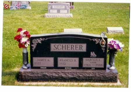 SCHERER, JAMES A. - Miami County, Ohio | JAMES A. SCHERER - Ohio Gravestone Photos