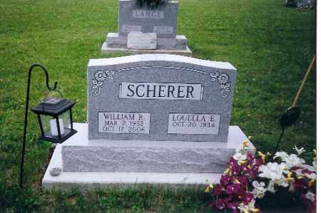 SCHERER, WILLIAM R. - Miami County, Ohio | WILLIAM R. SCHERER - Ohio Gravestone Photos