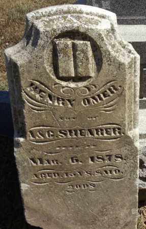 SHEARER, HENRY OMER - Miami County, Ohio | HENRY OMER SHEARER - Ohio Gravestone Photos
