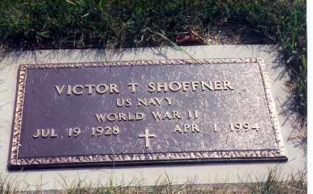SHOFFNER, VICTOR T. - Miami County, Ohio | VICTOR T. SHOFFNER - Ohio Gravestone Photos