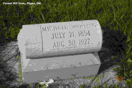WARLING, MICHAEL JOSEPH - Miami County, Ohio | MICHAEL JOSEPH WARLING - Ohio Gravestone Photos